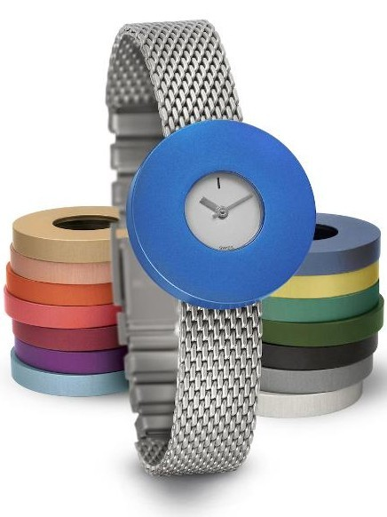 Vignelli | Pierre Junod baby 26mm mv small edelstalen mesh band